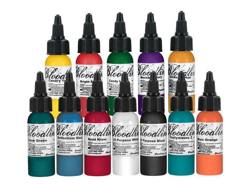 best tattoo ink brand bloodline