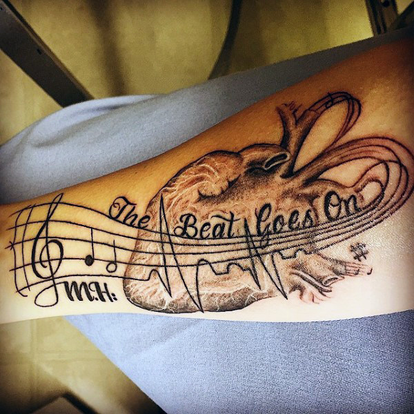 100 Amazing Heartbeat Tattoo Designs For Man And Woman Besttattooguide Com