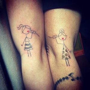 meaning of mother daughter tattoos