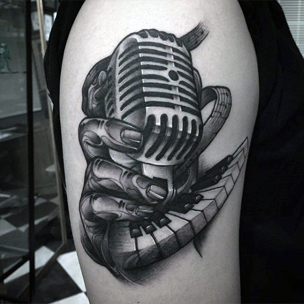 Musical Instrument Tattoo ideas