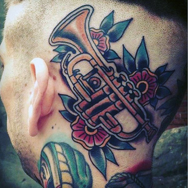 Musical Instrument Tattoo
