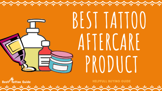 recommended tattoo aftercare products