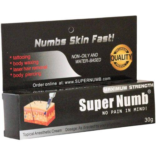 Super numb tattoo numbing cream