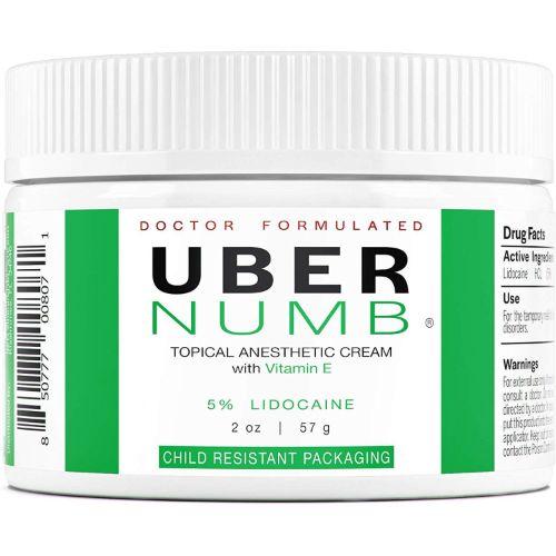 Uber Numb Lidocaine Numbing cream