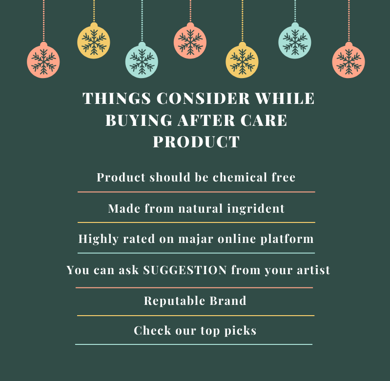 THINGS TO CONSIDER WHEN BUY AFTER CARE PRODUCT