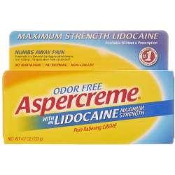 Aspercreme Lidocaine