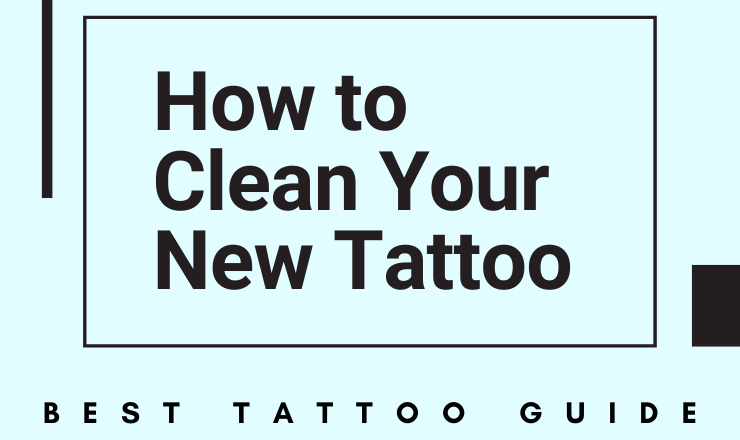 how to clean a tattoo