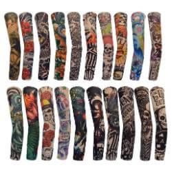 Tattoo Arm Sleeves Arts Fake
