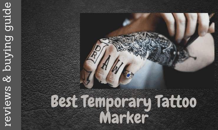 Best temporary tattoo marker